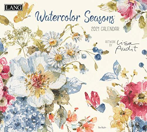 Watercolor Seasons 2021 Calendar
