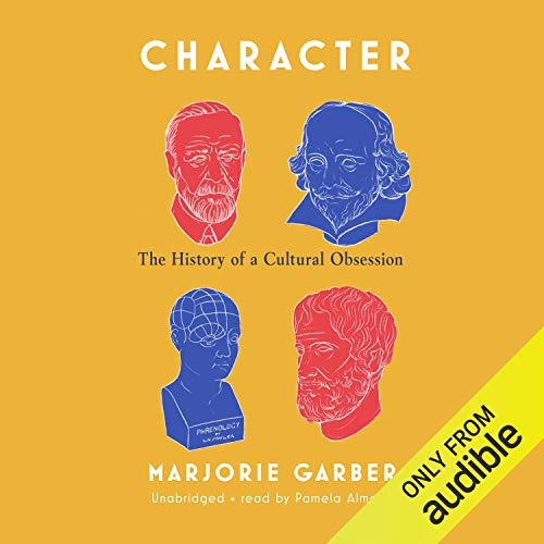 Character audiobook cover art