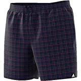 adidas Herren Checkered Badeshorts, Legend Ink, XL