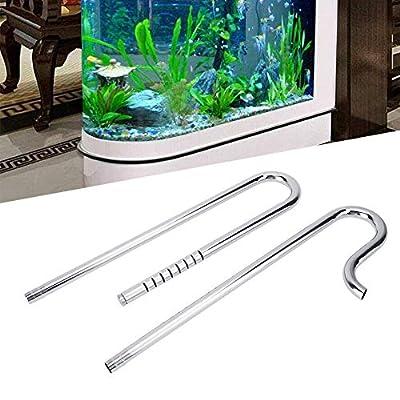 Pangding Tuyau d'aquarium, réservoir en Acier Inoxydable Usine d'acier Inoxydable Débit en Surface Tuyau filtrant d'écumeur de Film d'huile
