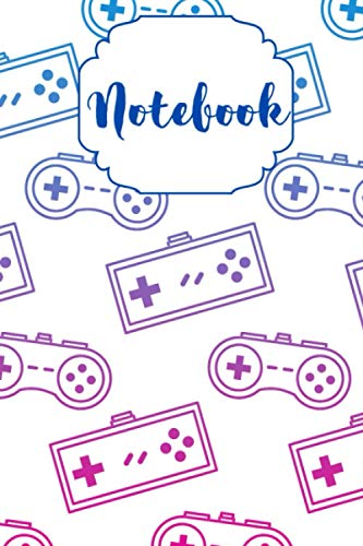 Video Game Lover Journal Notebook | Classic Ruled Lined Composition Journal Notebook...