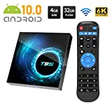 Android 10.0 TV BOX, T95 Android Box with Allwinner H616 Quad-Core 64bit ARM...