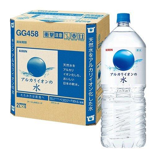アルカリイオンの水 ペット 2L×6本