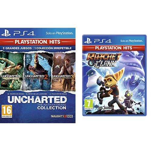 Uncharted Collection Hits - Versión 17 & Ratchet And Clank Hits - Versión 12