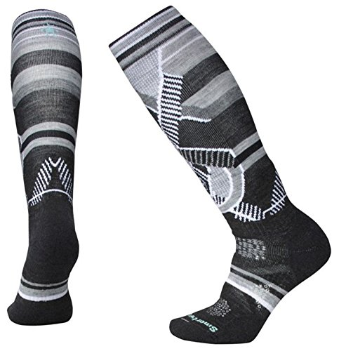 Smartwool PhD Ski Chaussettes Femme Charcoal FR :...