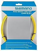 シマノ(SHIMANO) ブレーキケーブルセット SIL-TEC イエロー Y80098013