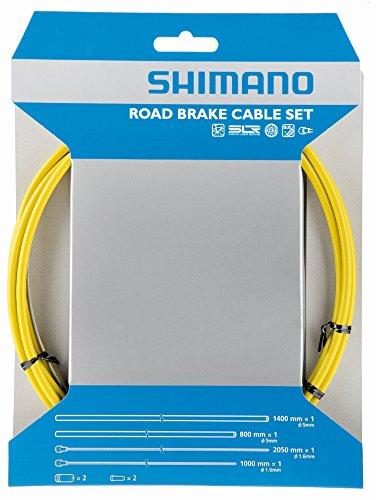 Shimano Rennrad Bremszugset PTFE, gelb