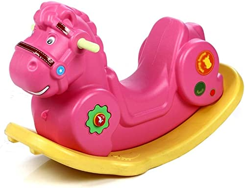 LALAWO Freizeitstuhl für Kinder Baby Schaukelpferd Kunststoff Spielzeug Kinder Verdickung Größe Schaukelpferd Indoor Schaukelstuhl Geburtstagsgeschenk 88  35  50 cm (Farbe    3)