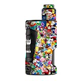Skin Decal Vinyl Wrap for Geekvape GBox Squonk Kit 200W Vape Kit Skins Stickers Cover/Sticker Collage,Sticker Pack
