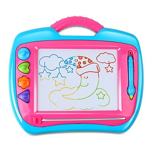 BeebeeRun Magnetisches Whiteboard für Kinder, Lernspielzeug Lernspielzeug für Kinder
