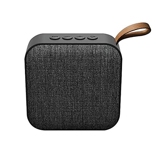 Bdesign Altavoz inalámbrico portátil - Mejor Mini Mini Tarjeta DE Tarjeta SUBWOOFER COMPUTADORA MÓVIL Wireless Pequeño Audio para teléfono móvil, baños, hogar, etc.