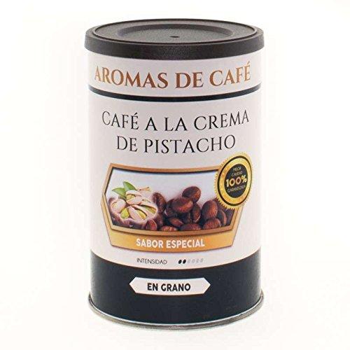 Aromas de Café - Café En Grano a la Crema de Pistacho - Café con Pistacho - 100% Arábica - Café Verde del Centro y Sur de América - Tostado Suavemente - 100 gr.
