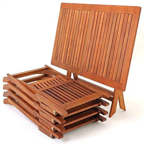 Deuba Sessel, Gartenmöbel, Holz, Eukalyptus, Akazienholz, Modell nach Auswahl - 8