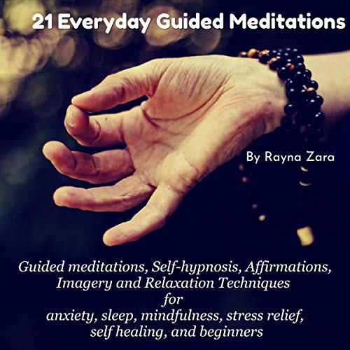 21 Everyday Guided Meditations audiobook cover art