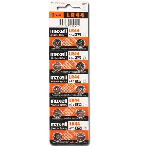 10x Pilas Bateria LR44 A76 RW82 AG13 V13GA Pilas alcalinas
