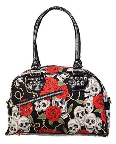 BANNED Sugar Skull Handtasche