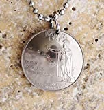 Hawaii U.S. State Quarter Domed Hawaiian Commemorative Coin Necklace Pendant 2008