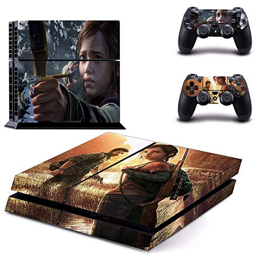 Playstation 4 Skin Set - The Last of US HD Printing Vinyl Skin Cover Protective for PS4 Gaming Console and 2 PS4 Controller by Mr Wonderful Skin