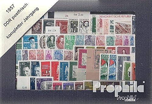 DDR 1957 avec 577-585 Un et b complet Volume dans propres conservation (Timbres pour les collectionneurs)