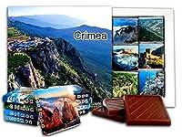 DA CHOCOLATE キャンディスーベニア クリミア チョコレートギフトセット 13x13cm 1箱 (山々)