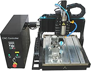 JFT cnc 3030 800w Square rail machine ce supported water tank cnc router for jewelry jade gold making (with rotary axis)