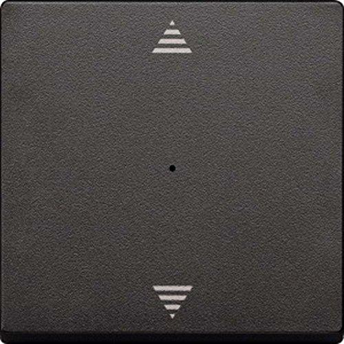 Merten MEG5215-0414 Wippe für Taster-Modul 1fach (Pfeile Auf/Ab), anthrazit, System M