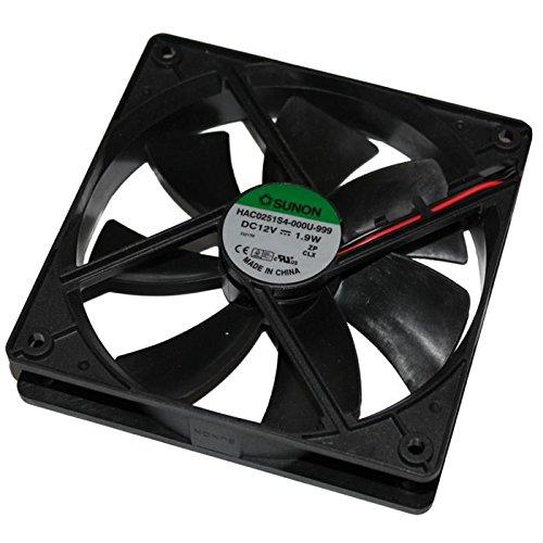 Fan/Ventilador 12V 1,9W 120x120x25mm 93,4m³/h 30dBA ; Sunon HAC0251S4-999