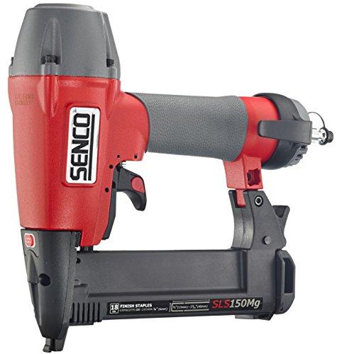 Senco SLS150Mg Medium Wire Finish crown  Stapler, Gray/Red