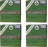 Tè anti-adiposo (Anti - Adipose Tea with Ginseng) 120 bustine più veloce per drenare ed eliminare i depositi adiposi e attivare l intestino.