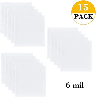 Allure Maek 15 Pieces 6 mil 12 x 12 inch Blank Stencil Material Mylar Template Sheets for Stencils