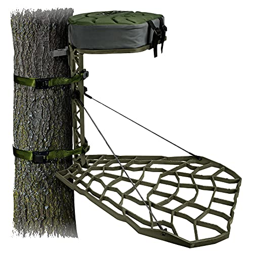 XOP-XTREME OUTDOOR PRODUCTS 2021 XOP Vanish Evolution - Cast Aluminum Hang On Tree Stand for Hunting...