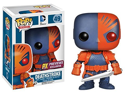 Pop Heroes Deathstroke Vinyl Figure