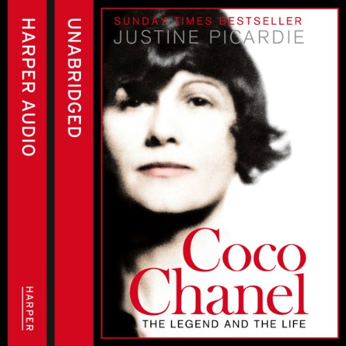 Coco Chanel audiobook cover art