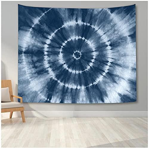 QJIAHQ Tapiz de patrón de Espiral Colorido para Colgar en la Pared, decoración artística, tapices de Tela de Fondo Abstracto artístico para decoración del Dormitorio del hogar, 150x130cm