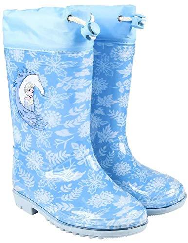Frozen Eiskönigin Gummistiefel Regenstiefel Stiefel Schuhe Gr. 28 blau *Neu*Ovp*