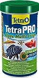 Tetra Pro Algae Premiumfutter (Flockenfutter für alle tropischen Zierfische, Fischfutter enthält...