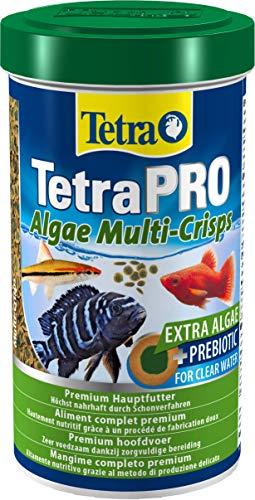 Tetra Pro Algae Premiumfutter (Flockenfutter für alle tropischen Zierfische, Fischfutter enthält Algenkonzentrat für erhöhte Widerstandskraft), verschiedene Größen
