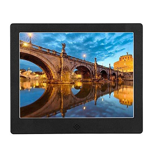 TUNBG digitale fotolijst 8 inch digitaal fotoalbum Hd familie foto video elektronische fotolijst Rose goud
