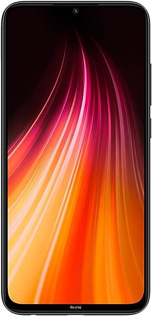 Global Xiaomi Redmi Note 8 Negro 4GB 64GB Smartphone Snapdragon 665 Octa Core 48MP Cámara Trasera cuádruple 6.3 4000mAh 18W Cargador rápido【Versión Europea】