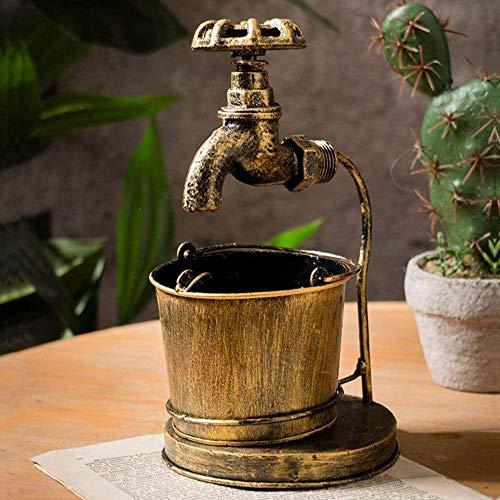 Cenicero creativo retro para el hogar, barra grande, decoración de oficina,grifo de hierro forjado, Cenicero para cigarrillos, Cenicero de Metal