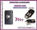 Homentry HE4331 kompatibel handsender, ersatz sender, 433.92Mhz rolling code. Top Qualität ersatzgerät!!!