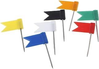 bacheca rosso verde marcatura destinazioni blu PAMIYO 300 spille segnapagina in 5 colori per mappa del mondo bianco giallo