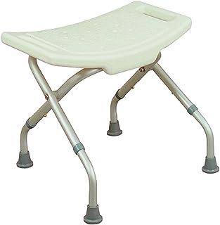 comprar comparacion Mobiclinic, Delta, Silla o taburete de baño, de ducha, ortopédica, altura regulable, respaldo, reposabrazos, conteras anti...