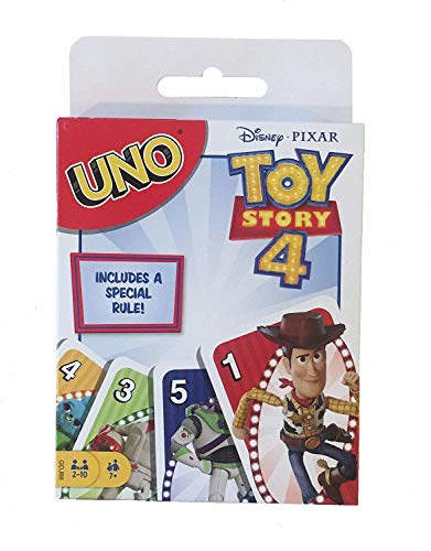 UNO Toy Story 4 Card Game Now $3.94 (Was $5.99)