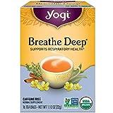 Yogi Organic Tea Bags, Breathe Deep 16 ea