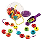 Learning Resources Smart Snacks ABC Lacing Sweets, Fine Motor Toy, 29 Pieces