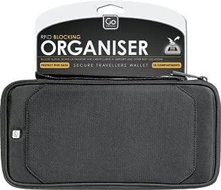 Go-Travel RFID Organiser, Black, 674