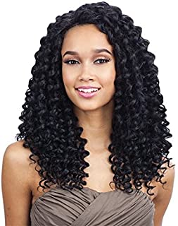 PLUSH CURL (1 Jet Black) - FreeTress Equal Synthetic Deep Invisible Part Lace Front Wig