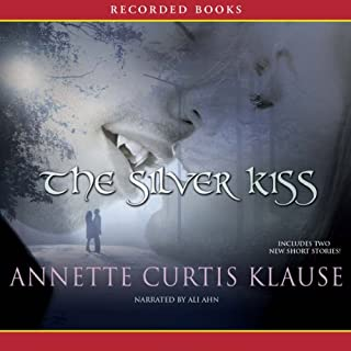 The Silver Kiss audiobook cover art