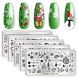Best Christmas Nail Stamping Plates 2020 The 4 Best Quality Christmas Nail Stamping Plates 2020 | Easy Nail